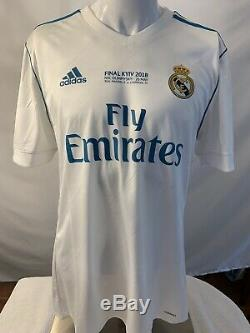 Real Madrid 17/18 Adizero Player Issue Authentic Home Jersey RONALDO #7 Men's L