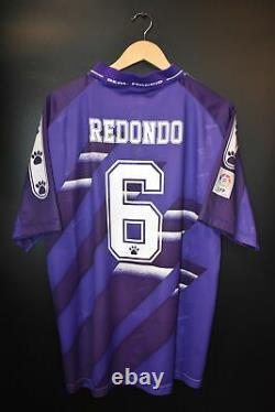 Real Madrid 1994-1996 Redondo Original Away Jersey Size XL (very Good)