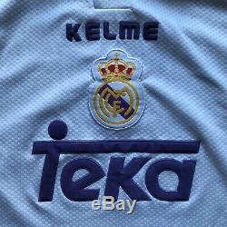 Real Madrid 1997 1998 Home Football Shirt Jersey Kelme Raul #7