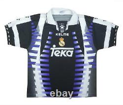 Real Madrid 1997-98 Original Third Shirt (Excellent) M Soccer Jersey