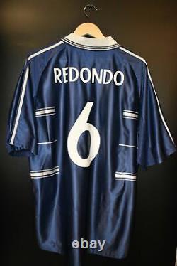 Real Madrid 1998-1999 Redondo Original Away Jersey Size L (very Good)