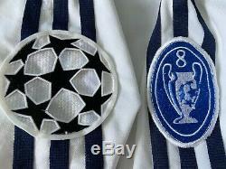Real Madrid 2001 2002 Champions League Figo Match Worn Shirt Jersey Camiseta