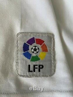 Real Madrid 2001 2002 La Liga McManaman Match Worn Shirt Jersey Camiseta