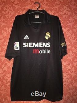 Real Madrid 2001-2002 Third Football Shirt Jersey Maglia Roberto Carlos