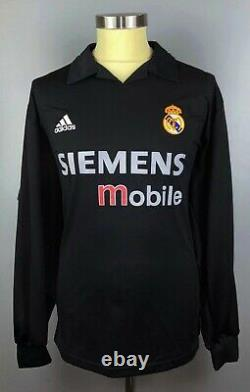 Real Madrid 2002 2003 FIGO Match Shirt Camiseta Jersey