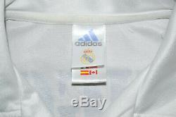 Real Madrid 2002/2003 Home Football Shirt Jersey Adidas Figo #10 Size M Adult