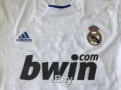 Real Madrid 2010-211 Morata match used home Formotion player issue jersey