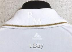 Real Madrid 2011-2012 Home LS Long Sleeve Jersey Shirt Ronaldo Official Rare