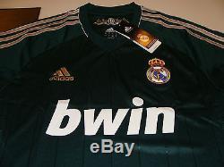 Real Madrid 2012-13 Soccer 3rd Jersey Short Sleeves Spanish La Liga League XL