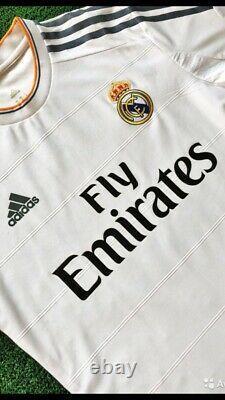 Real Madrid 2013-2014 AUTHENTIC Ramos Shirt M