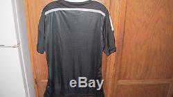 Real Madrid 2014-15 3RD Football Soccer Jersey Shirt ALTERNATE DRAGON Black L XL