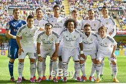 Real Madrid 2014-2015 Authentic Adizero Player Issue Jersey Limited Edition Box