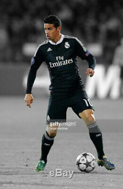 Real Madrid 2014 2015 Champions League James Match Shirt Jersey Camiseta