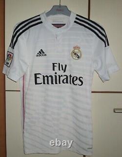Real Madrid 2014-2015 Home football shirt jersey player Issue adizero #7 Ronaldo