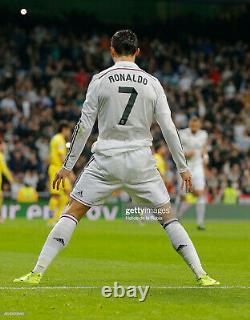 Real Madrid 2014 2015 Long Sleeve RONALDO Official (M) Shirt La Liga LS Jersey
