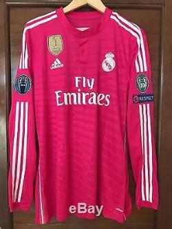 online retailer 40f7c bce9d Real Madrid 2014-2015 Ronaldo pink Adizero Champions League ...
