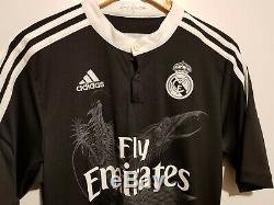 Real Madrid 2014-2015 Third Jersey Football Shirt ADIDAS F49264 M BNWT DRAGON