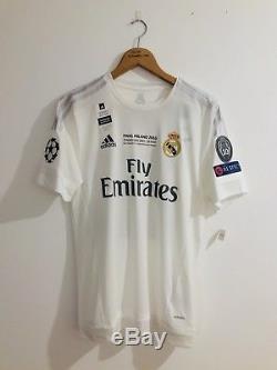 Real Madrid 2015-16 Final Milano 2016 UCL Isco Home Adizeroshirt camiseta  jersey fb8efa134b121