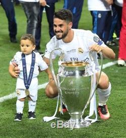 Real Madrid 2015-16 Final Milano 2016 UCL Isco Home Adizeroshirt camiseta jersey