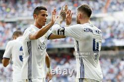 Real Madrid 2016 2017 Jersey Ronaldo La Liga Player Issue Shirt (8)