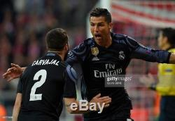 Real Madrid 2016-2017 Ronaldo Adizero Champions League player issue jersey
