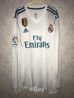 reputable site ef99f b231b Real Madrid 2017-18 La Liga Adizero Player Issue Ronaldo ...