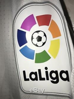 Real Madrid 2017-18 La Liga Adizero Player Issue Ronaldo Jersey RARE Long Sleeve