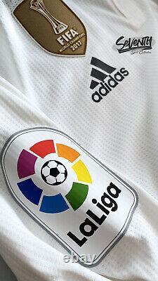 Real Madrid 2018 2019 La Liga Player Issue Sergio Ramos Long Sleeve Shirt Jersey