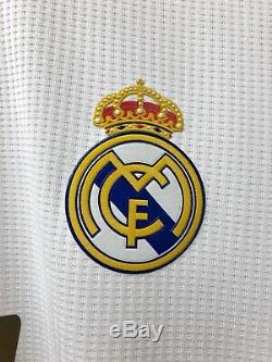 Real Madrid 2019-2020 La Liga Sergio Ramos player issue Climachill home jersey
