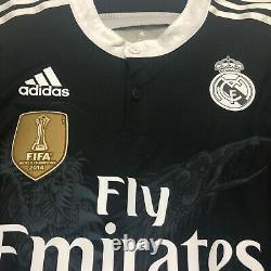 Real Madrid 3rd 2014 Jersey Football Shirt Soccer MATCH ISSUE Not WORN RONALDO
