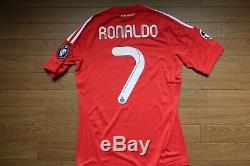 Real Madrid #7 Cristiano Ronaldo 100% Original Jersey Shirt 2011/2012 CL 2969