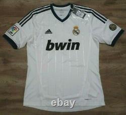Real Madrid #7 Cristiano Ronaldo 100% Original Jersey Shirt 2012/2013 Home M NEW