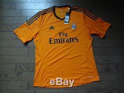 Real Madrid #7 Cristiano Ronaldo 100% Original Jersey Shirt 2013/14 Third L BNWT