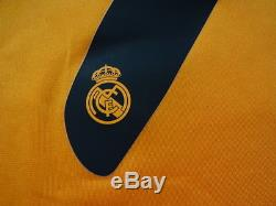 Real Madrid #7 Cristiano Ronaldo 100% Original Jersey Shirt 2013/14 Third M BNWT
