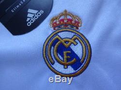 Real Madrid #7 Raul 100% Original Jersey Shirt 2004/05 Home M NWT NEW Rare