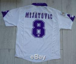 Real Madrid #8 Mijatovic 1996/1997 Kelme M Home Shirt Jersey Camiseta