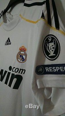 Real Madrid #9 Cristiano Ronaldo 2009 2010 Home Jersey