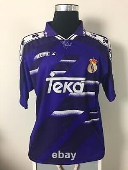 Real Madrid Away Football Shirt Jersey 1994-1996 (L)