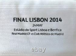 Real Madrid Bale Champions League Final Lisbon Formotion player issue jersey