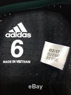 Real Madrid Bale Prepared Wales Player Issue Jersey Match Unworn Adizero Shirt
