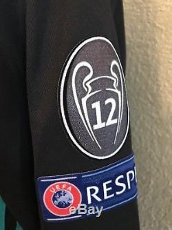 Real Madrid Bale Wales Player Issue Adizero Shirt Match Unworn Football Jersey