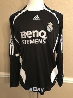 Real Madrid Beckham L Player Issue Formotion Jersey Match Unworn Football Shirt