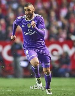 Real Madrid Benzema 10 France Adizero Player Issue Shirt Match Unworn Jersey