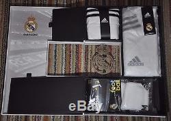Real Madrid Boxset home 2014-2015, sz Small (Adizero Shirt + Short + Shock)