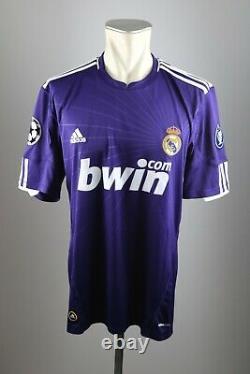 Real Madrid CL Trikot 2010-11 Gr. L Adidas 3rd jersey Shirt Champions League