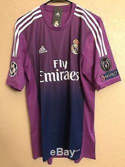 Real Madrid Casillas Fc Porto Xl Size Jersey Adidas Football Shirt