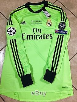 Real Madrid Casillas Size 10 Player Issue Formotion Match Unworn Shirt Jersey