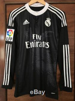 Real Madrid Cristiano Ronaldo 2014-15 Adizero player version 3rd jersey dragons