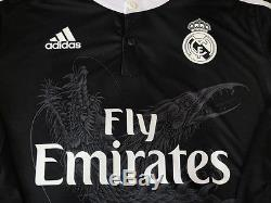 Real Madrid Cristiano Ronaldo 2014-15 Adizero player version 3rd jersey dragons