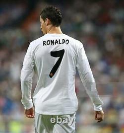 Real Madrid Cristiano Ronaldo 2014 Champions League Final Original Jersey